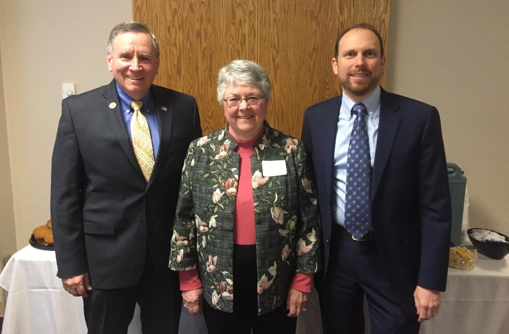 Executives Council Co-Chairs Chuck Winn, Kathy Hart, and Daniel Wolcott