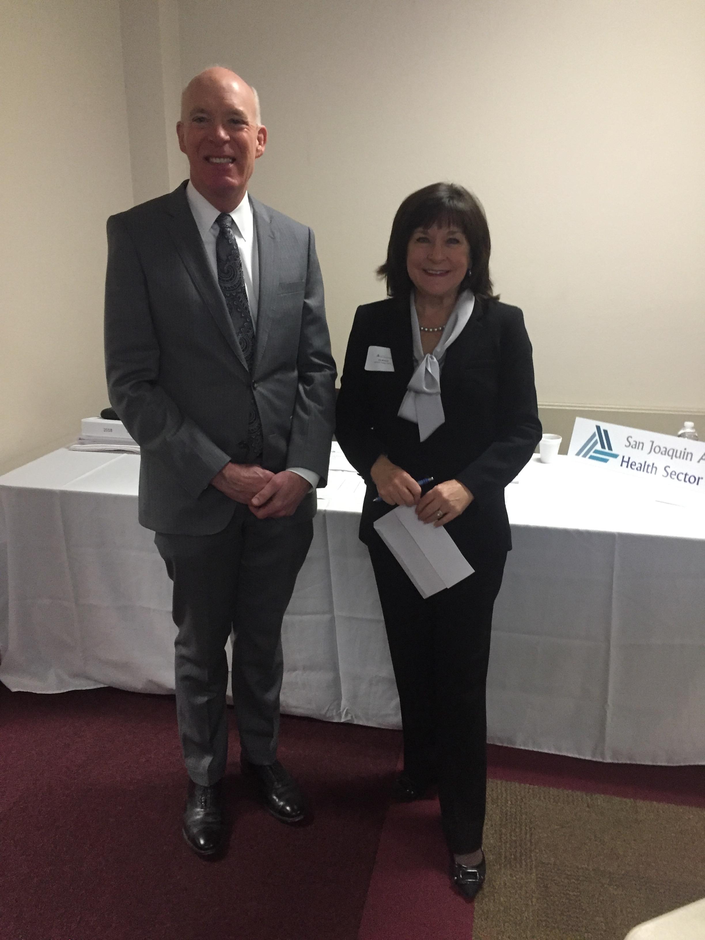David Culberson and Lita Wallach
